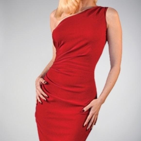 Stop Staring Dresses Plus Size Red One Shoulder Dress Poshmark